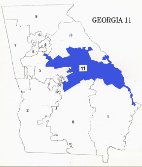 Georgia 11Th Congressional District Map Congress and the Legislative Process