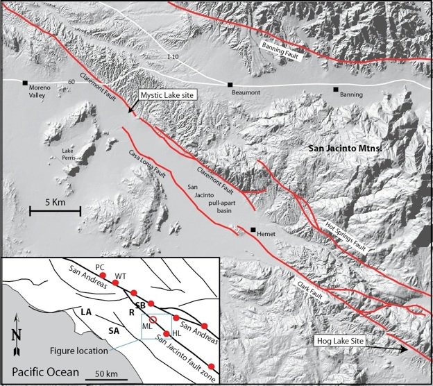 Active Tectonics Of The San Jacinto Fault And Interaction With The